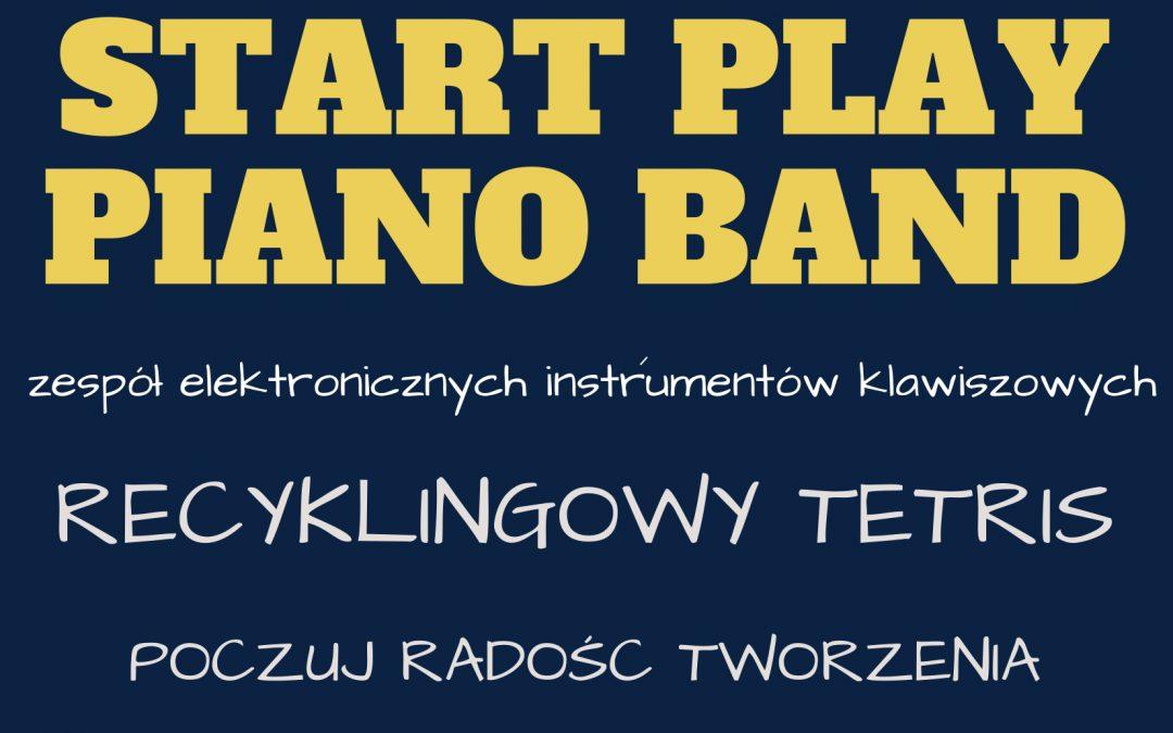 Start Play piano band, warsztaty dla dzieci 5-10 lat z opiekunami