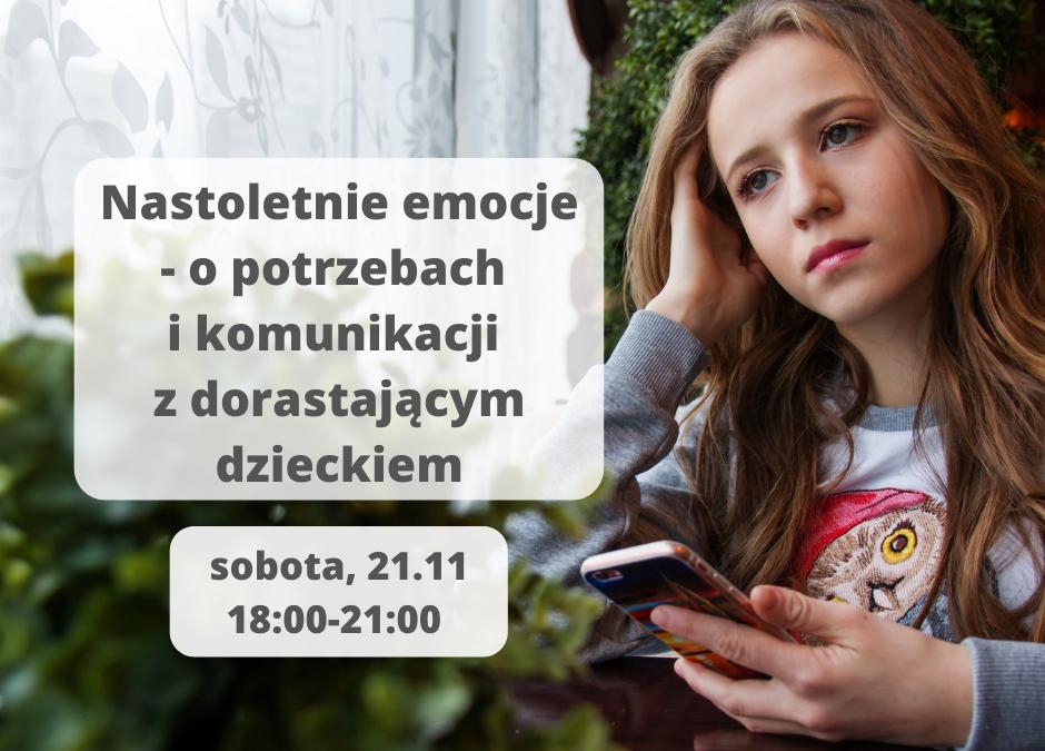 Nastoletnie relacje – o potrzebach i komunikacji z dorastającym dzieckiem