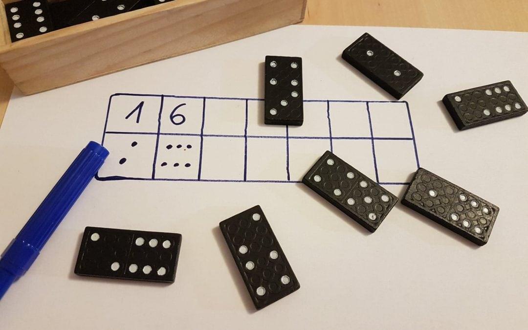 Gry matematyczne DOMINO – warsztaty dla dzieci 4-6 lat WOLA