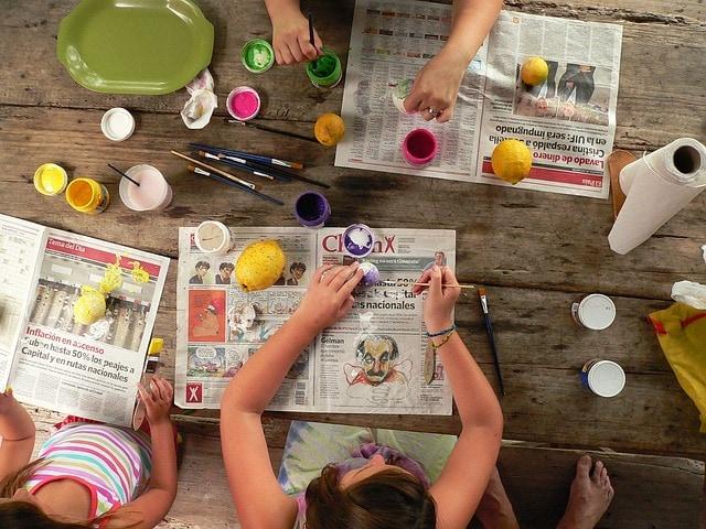 Rodzinna pracownia ŁÓDKI, ŁÓDECZKI – zajęcia twórcze online dla dzieci i opiekunów